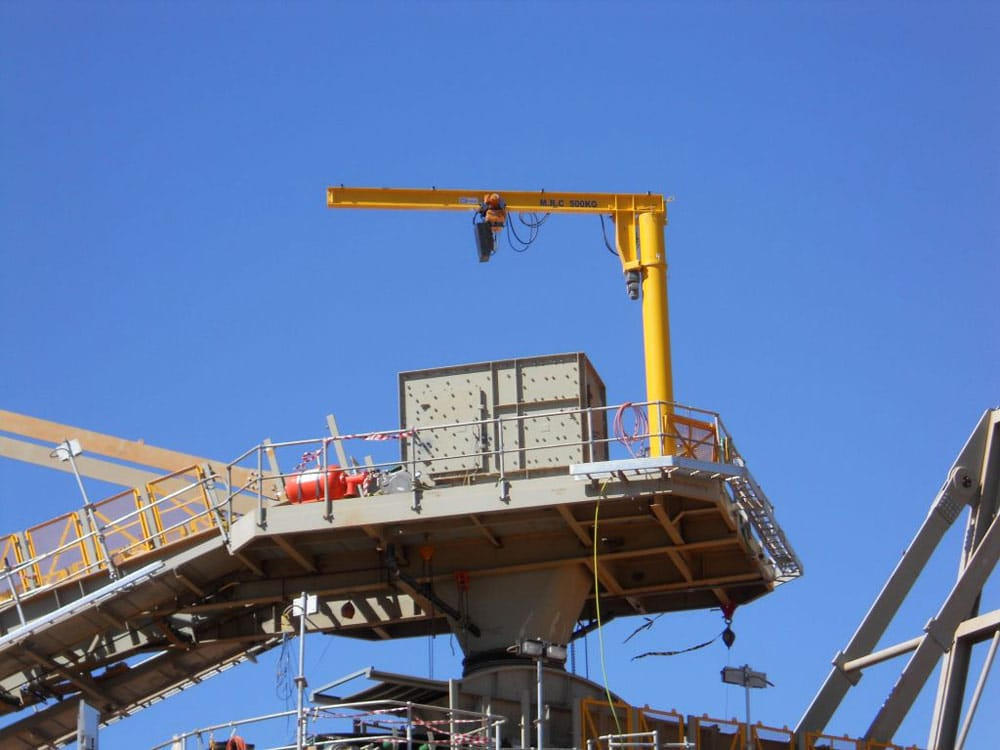 Free-standing-jib-crane