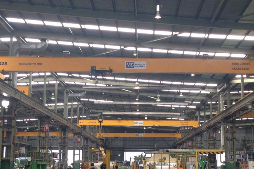 Single Girder - Top Running Overhead Crane