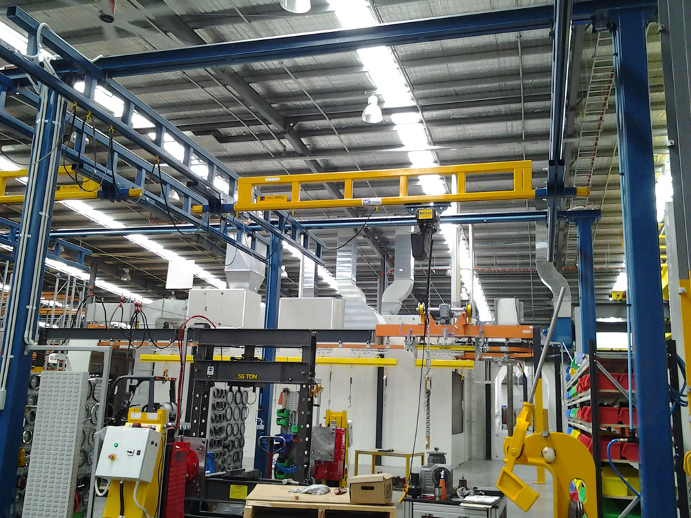 Free Standing Workstation Bridge Crane